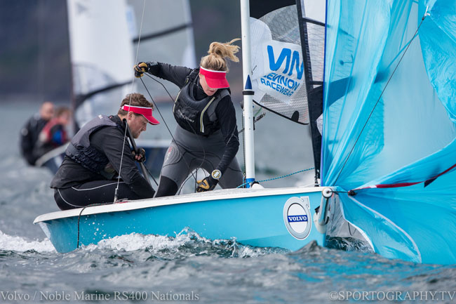 Volvo Noble Marine RS400 Nationals 2015