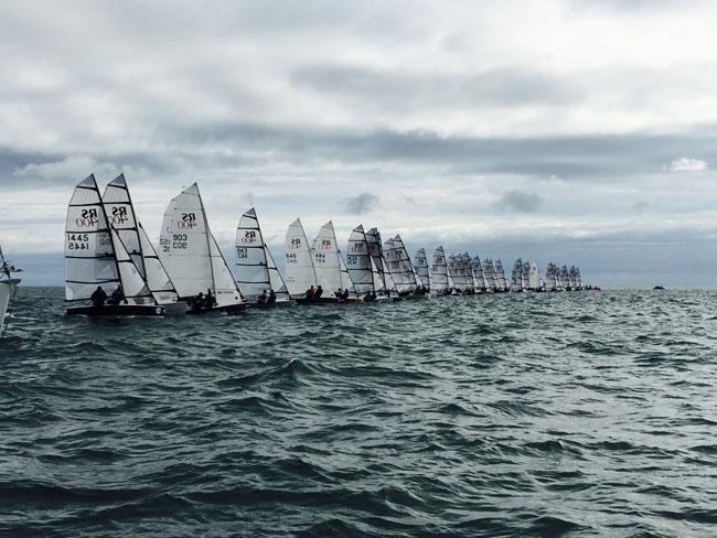 49 RS400s at the Irish Nationals!