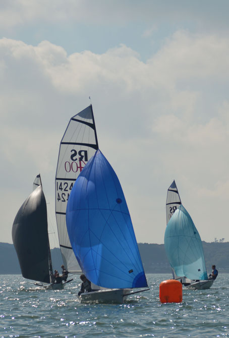 RS400s in the sun at Lymington, 2015