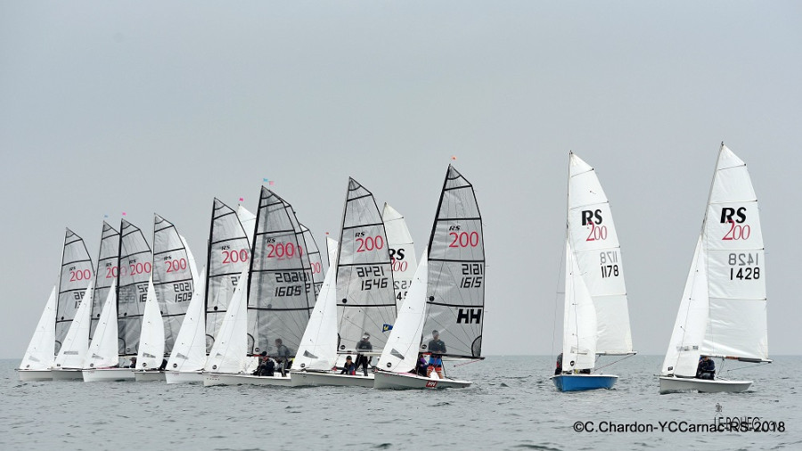 RS200 Eurocup, YC Carnac, May 2018