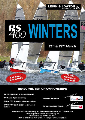 More information on RS400 Winter Championships, Leigh & Lowton, POSTPONED