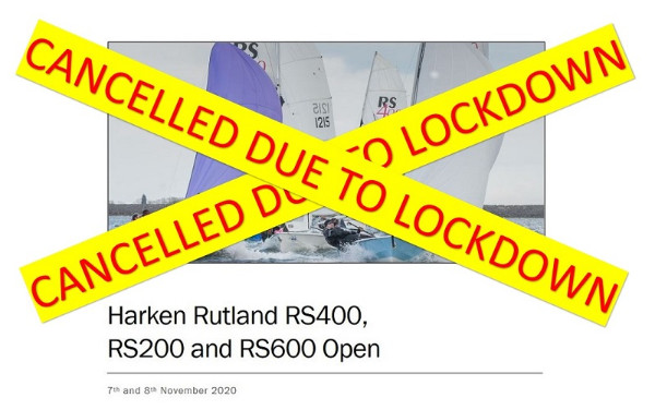 More information on Harken Rutland RS200 RS400 RS600 Open Cancelled