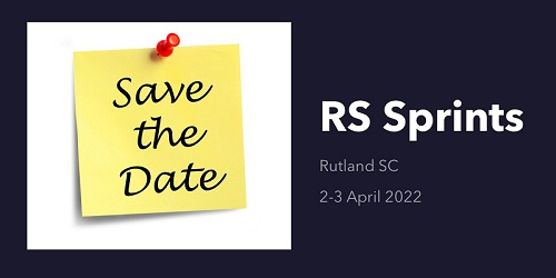 More information on RS SPRINTS 25-26 APRIL 2021 CANCELLED